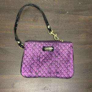 Coach small wristlet purse